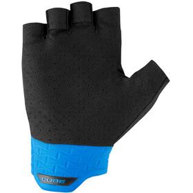 Cube Performance Short Finger Gloves black/blue